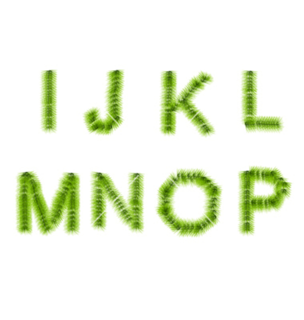 1430372013 grass letters i j k l m n o p vector 1600519