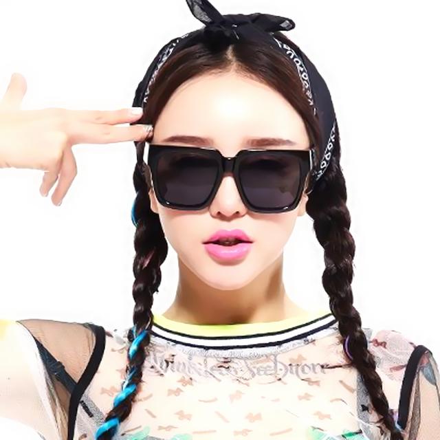 1431088127 women men unisex vintage inspired large frame flat top square sunglasses black leopard