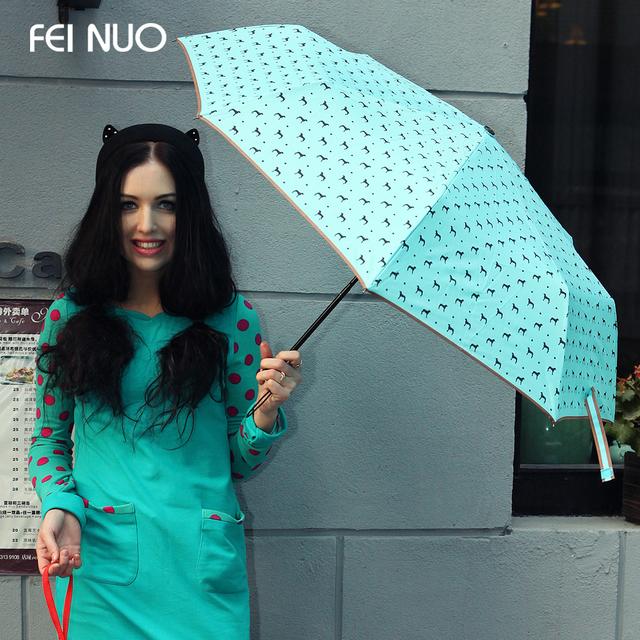 1431498527 2014 creative designer women clear font b umbrella b font for sale novelty polka patterned manual