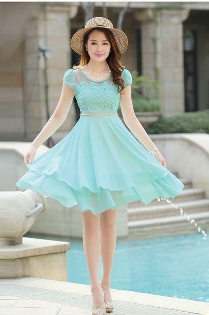 1431582503 pastel dress for light skinned ladies