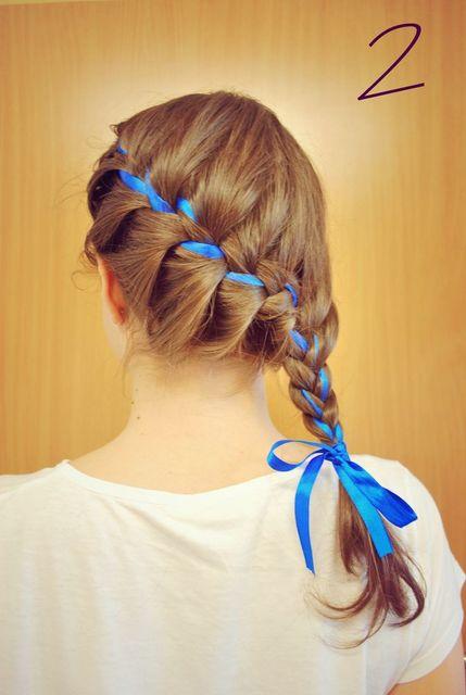 1431583011 blue ribbon and side braid