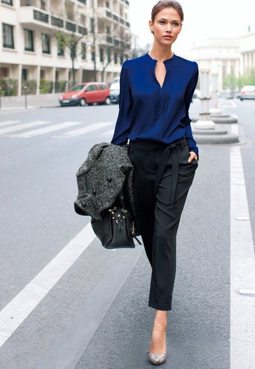 1433215714 navy blue top and black pants