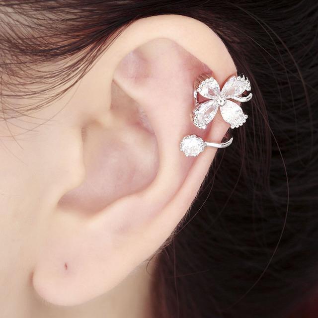 1433241045 925 sterling font b silver b font flower ear cuff font b cartilage b font wrap
