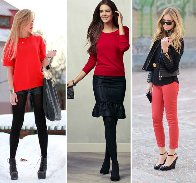 1433303017 how to wear black clothing black with red style