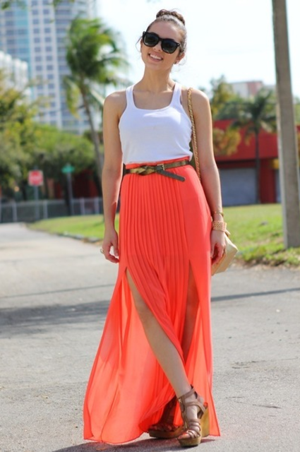 1428647788 bright and pleated maxi skirt