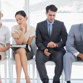 Icon 1429867914 bigstock four business people waiting f 56193467
