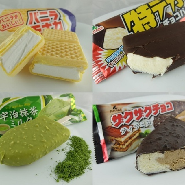 ไอศกรีมญี่ปุ่น FUTABA อร่อย ทั้งตู้ราคาเดียว 29 บาท