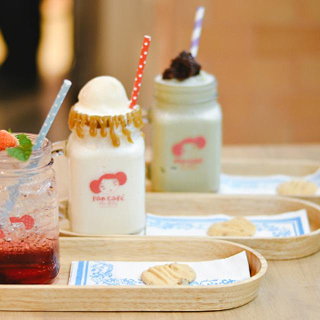 """PAN CAFÉ"" (パンカフェ) คาเฟ่ขนมหวานสไตล์ญี่ปุ่น"