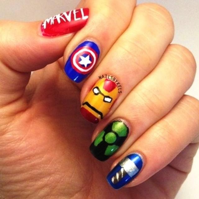 อัญเชิญเหล่าซูเปอร์ฮีโร่ The Avengers ลงบนเล็บ!