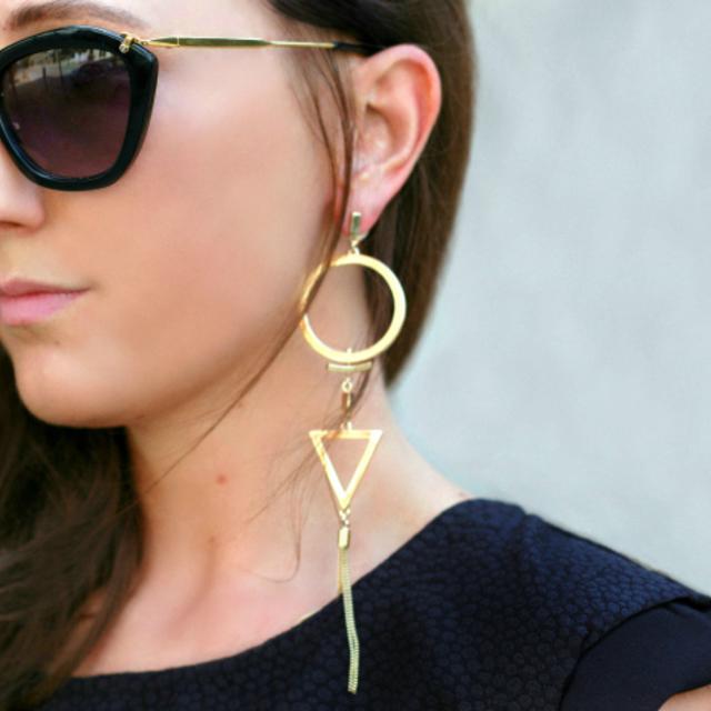 1431160649 gold sculptural earrings