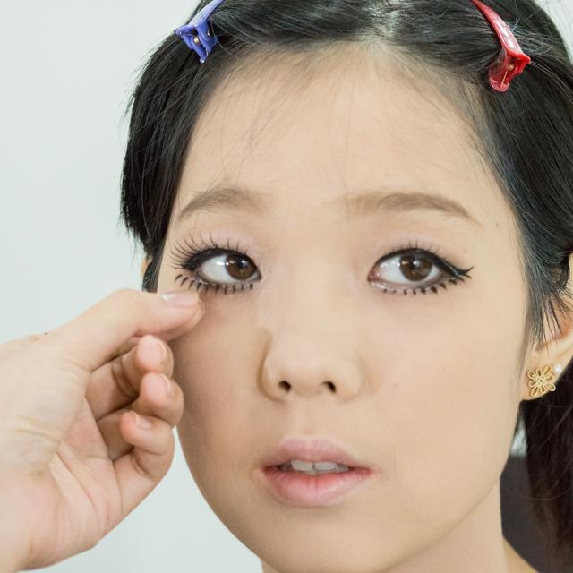 Asian Makeup Look 3 แต่งหน้าเป็นสาว Gal สัญชาติญี่ปุ่น