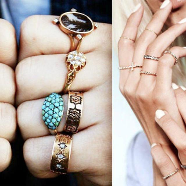 คุณเป็นคนแบบไหน?...ดูได้จากการสวมแหวน